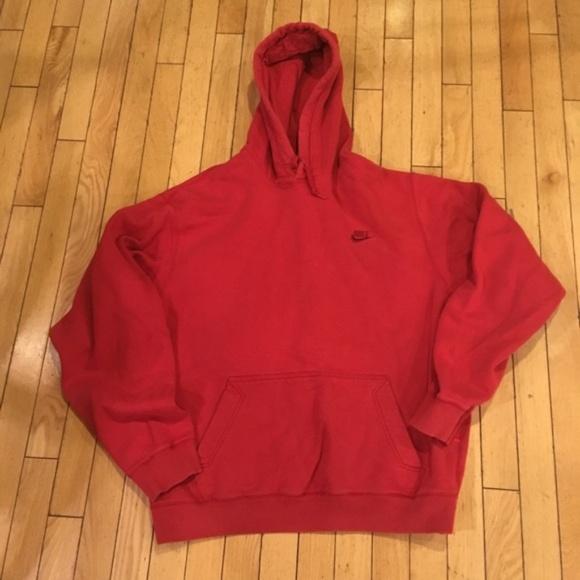 Nike Men's Vintage 06 Hoodie Sweatshirt Red f67ybYvIg